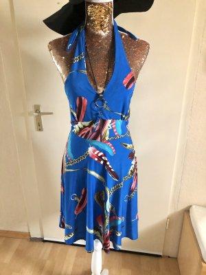 Sukienka bez ramiączek niebieski