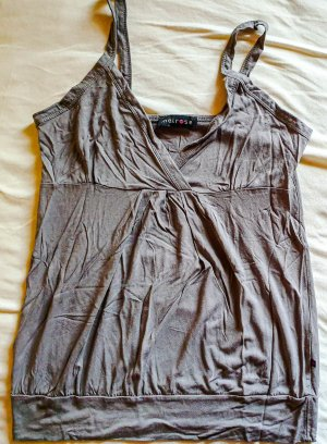 Melrose Bustier Top grey brown