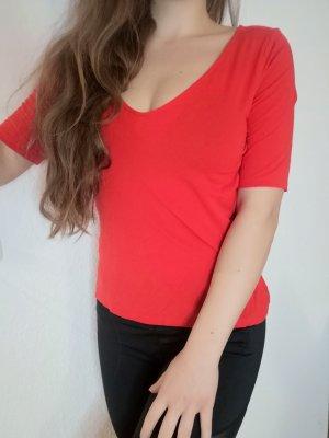 luftig lockeres Shirt in tollem Rot