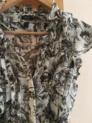 Luftig, transparente Bluse