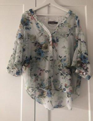 QED London Blusa de túnica multicolor