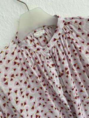 Anna Glover × H&M Blouse à manches longues rose clair-blanc