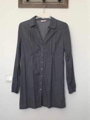 Orsay Blusa larga gris-gris antracita