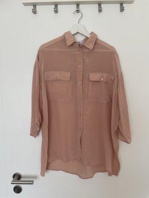 Luftige Hemdbluse Bluse Hemd Oberteil von Mango Gr M