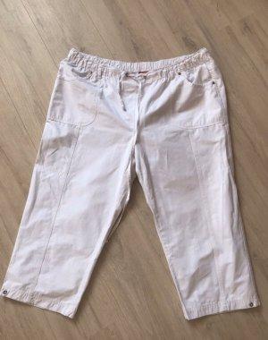 Spodnie khaki biały