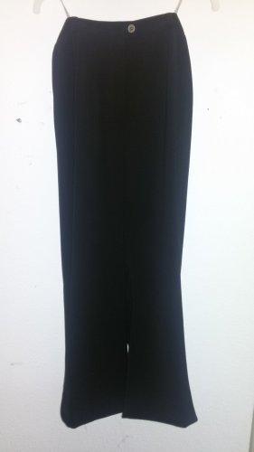 Hucke Pantalón de lino negro