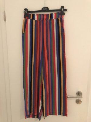 ambar Pantalon taille haute multicolore