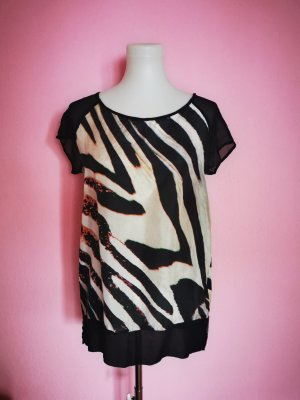 Ana Alcazar Oversized shirt veelkleurig Zijde