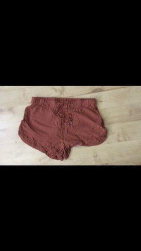 luftige Shorts - orange