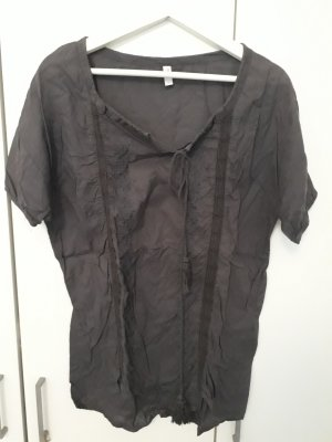 Only Blouse oversized gris anthracite
