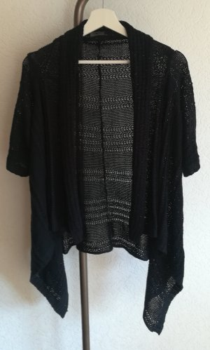 Only Short Sleeve Knitted Jacket black