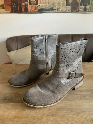 Remonte Cut Out Booties light grey-grey