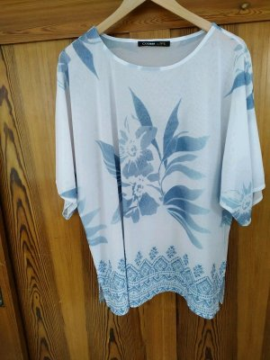 Luftige Tunika, oversize Shirt, Größe 46
