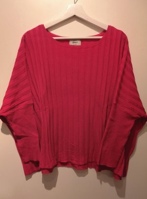 Luftiger Oversize Pullover von ONLY in Pink, Gr. XL