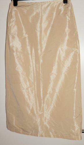 Max Mara Maxi Skirt oatmeal silk