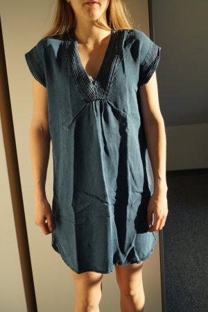 L.O.G.G. H&M Jeansowa sukienka niebieski Lyocell