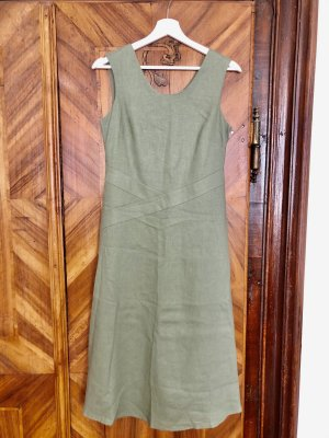 C&A Yessica Robe mi-longue kaki lin