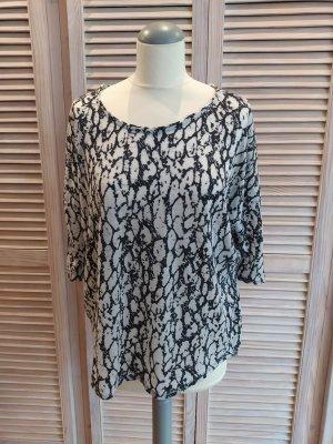 Suncoo Camicia oversize grigio chiaro-antracite Cotone