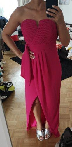 TFNC Bustier Dress pink