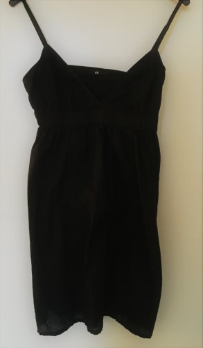 H&M vestido de globo negro