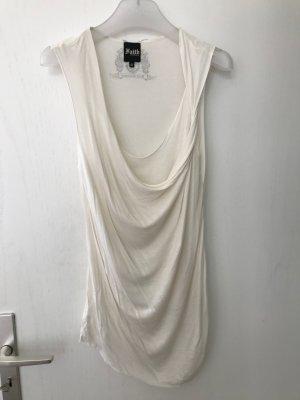 Faith connexion Top collo ad anello bianco-bianco sporco Modal