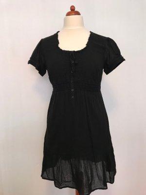 Jessica Empire Dress black cotton