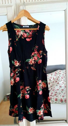 myhalys Robe de plage noir-rose