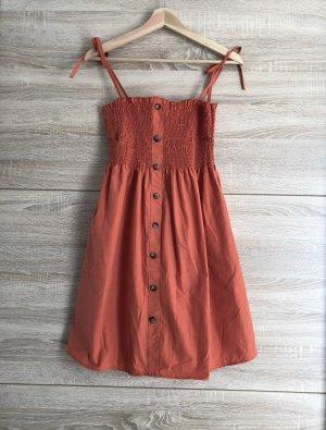 Luftiges Sommerkleid, orange