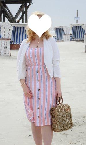 Jean Pascale Sukienka plażowa Wielokolorowy Len