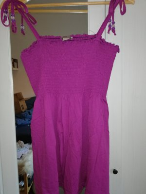H&M A Line Top violet-raspberry-red