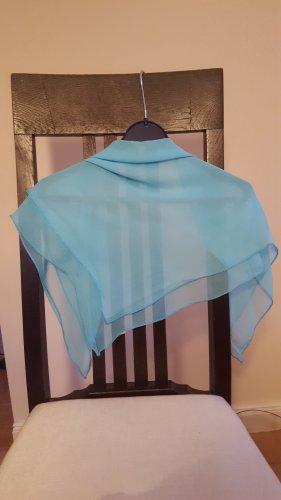 Halsdoek lichtblauw Polyester