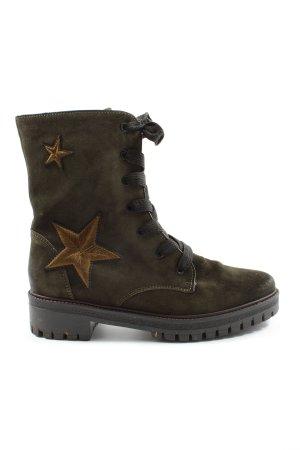 Luftpolster Chukka boot kaki style décontracté