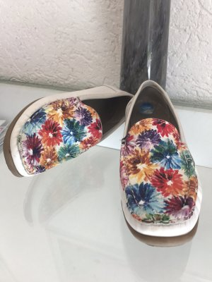 Luftpolster Leder Schuhe florale Muster