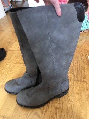 Ara Luftpolster Wide Calf Boots grey