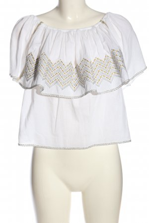 lug von siga Carmen blouse veelkleurig casual uitstraling