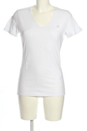 Luhta T-Shirt weiß Casual-Look