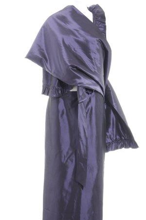 Luis Civit Barcelona Kostüm dunkelviolett Elegant