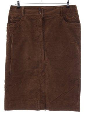 Luis Steindl Maxi Skirt brown casual look