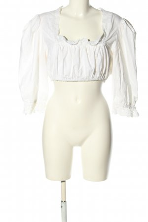 Luis Steindl Traditional Blouse white classic style