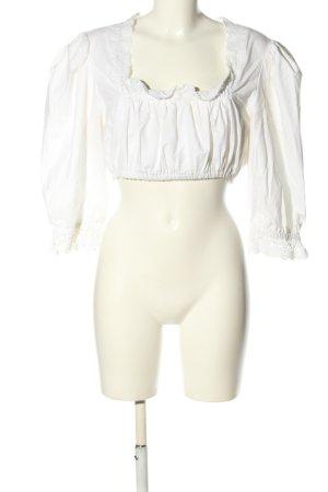 Luis Steindl Blusa tradizionale bianco stile classico
