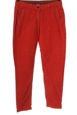 Luis Trenker Corduroy broek rood casual uitstraling
