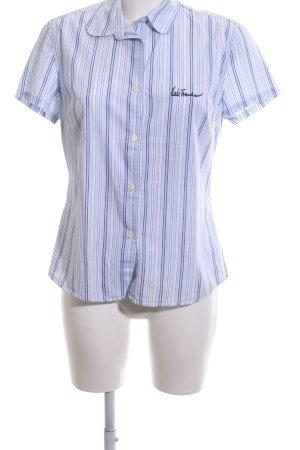 Luis Trenker Shirt met korte mouwen gestreept patroon casual uitstraling