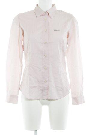 Luis Trenker Langarmhemd rosé Elegant