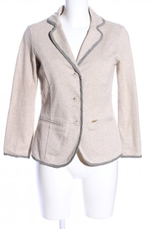 Luis Trenker Tweedblazer creme meliert Business-Look
