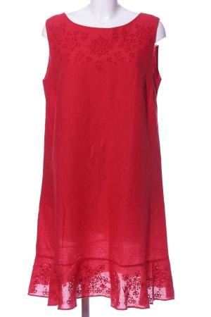 Luisa Cerano A-Linien Kleid rot Casual-Look