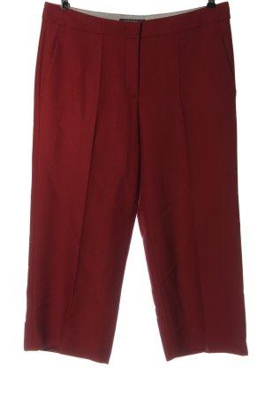 Luisa Cerano Pantalone da abito rosso stile professionale