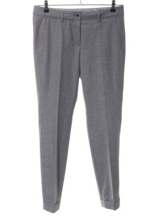 Luisa Cerano Pantalon de costume gris clair moucheté style d'affaires