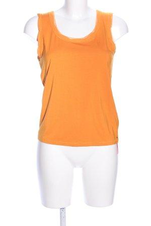 Luisa Cerano Basic Top light orange casual look