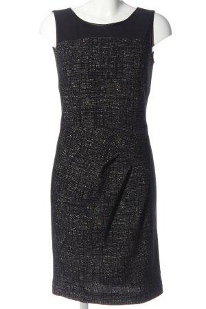Luisa Cerano Pencil Dress black-cream allover print casual look