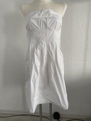 Luisa Cerano Sukienka z gorsetem biały